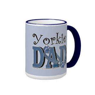 Yorkie DAD Ringer Coffee Mug