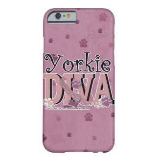 Yorkie Diva iPhone Cover