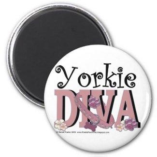 Yorkie DIVA Magnets