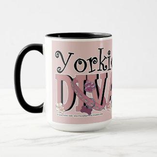 Yorkie DIVA Mug