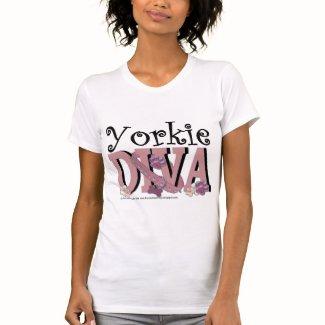 Yorkie DIVA Tee Shirt