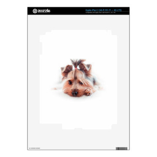 Yorkie Dog Love Yorkies Yorkshire Terrier Decal For iPad 3