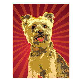 Yorkie Dog Owner Postcard