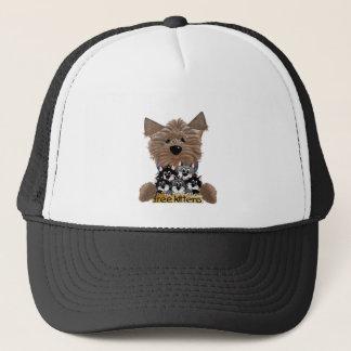 Yorkie free Kittens Trucker Hat