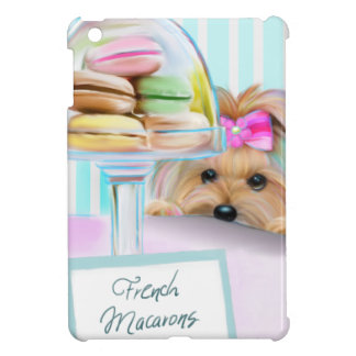 Yorkie French Macarons Case For The iPad Mini