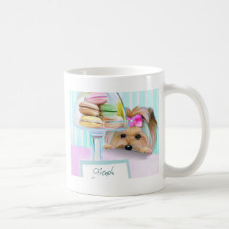 Yorkie French Macarons Coffee Mug