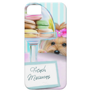 Yorkie French Macarons iPhone SE/5/5s Case
