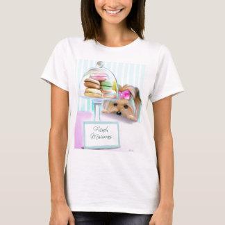Yorkie French Macarons T-Shirt