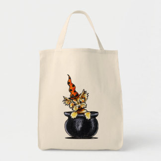 Yorkie Halloween Good Witch Off-Leash Art™ Tote Bag