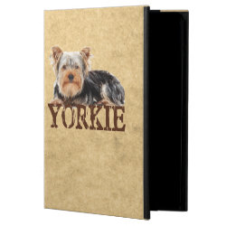 iPad Air Powis Case with Yorkshire Terrier Phone Cases design