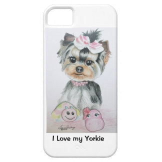Yorkie iPhone 5 Case