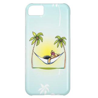 Yorkie Island Princess Off-Leash Art™ Case For iPhone 5C