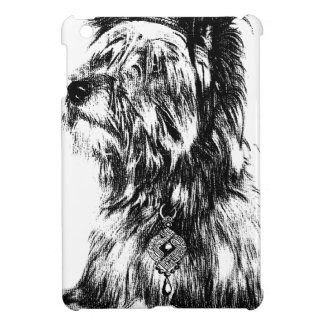 Yorkie Jewels Crown Puppy Dog iPad Mini Cover