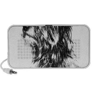 Yorkie Jewels Crown Puppy Dog Notebook Speaker