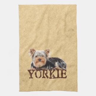 Yorkie Kitchen Towels