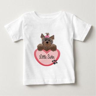 Yorkie Little Sister Baby T-Shirt