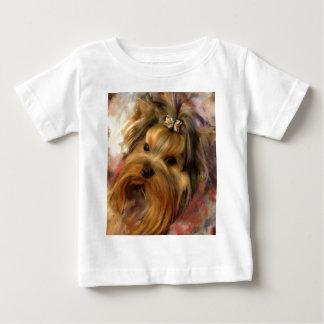 Yorkie Love Baby T-Shirt
