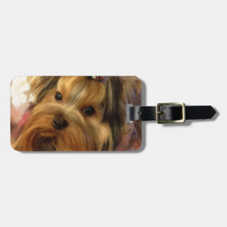 Yorkie Love Tag For Luggage