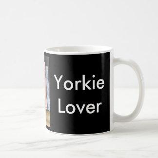 Yorkie Lover Classic White Coffee Mug