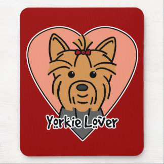 Yorkie Lover Mouse Pad