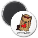 Yorkie Lover, Yorkshire Terrier Fridge Magnets