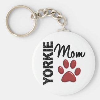 Yorkie Mom 2 Key Chains