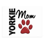 Yorkie Mom 2 Post Card