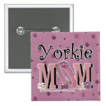 Yorkie MOM Buttons