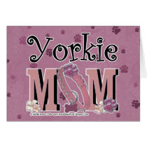 Yorkie MOM Card