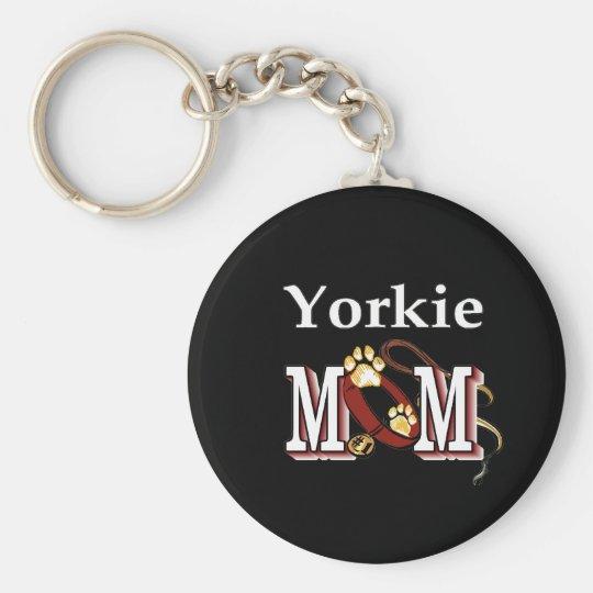 Yorkie Mom Gifts Keychain