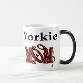Yorkie Mom Gifts Magic Mug