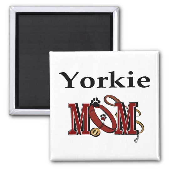 Yorkie Mom Gifts Magnet