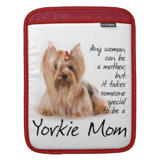 Yorkie Mom iPad Sleeve