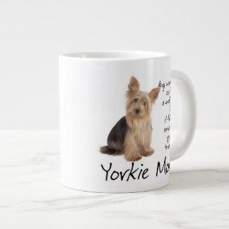 Yorkie Mom Jumbo Mug