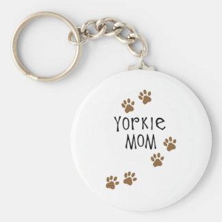 Yorkie Mom Key Chain