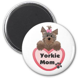 Yorkie Mom Refrigerator Magnets