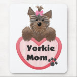 Yorkie Mom Mousepads