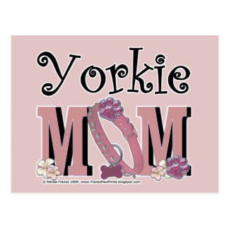 Yorkie MOM Postcard
