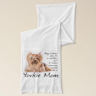 Yorkie Mom Scarf