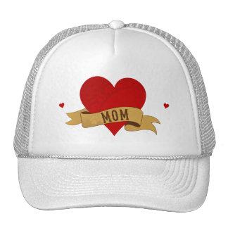 Yorkie Mom [Tattoo style] Trucker Hat