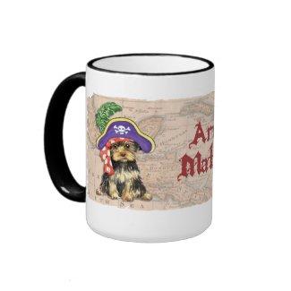 Yorkie Pirate Coffee Mug