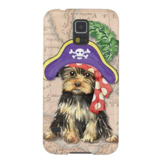Yorkie Pirate Samsung Galaxy Cover