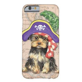Yorkie Pirate iPhone Cover