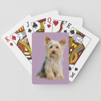Yorkie Playing Cards