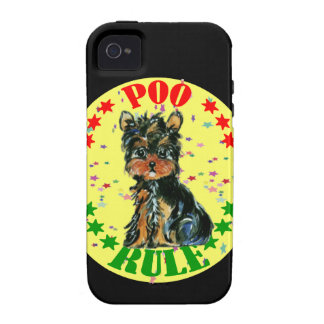 YORKIE POO CASE FOR THE iPhone 4