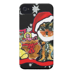 Case-Mate iPhone 4 Barely There Universal Case with Yorkshire Terrier Phone Cases design