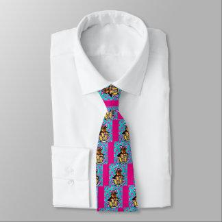 Yorkie Poo Easter Neck Tie
