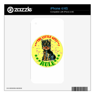 YORKIE POO SKINS FOR THE iPhone 4S