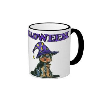 Yorkie Poo Witch Mug