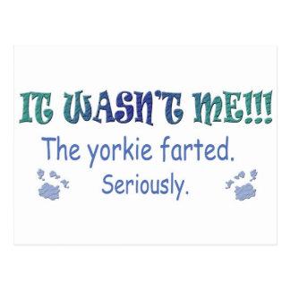 Yorkie Post Cards